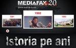 De 20 de ani, Mediafax scrie istoria. Ştire cu ştire.