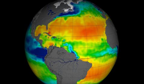 NASA a creat harta care arată salinitatea din oceanul planetar (VIDEO)