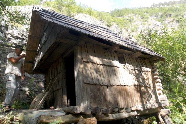 O moara de apa de la Rudaria, în patrimoniul UNESCO, poate fi vazuta pe Valea Almajului din Caras-Severin, duminica, 17 august 2014.