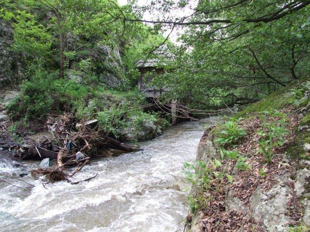 Morile de apă de la Rudăria