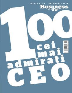 100 Cei Mai Admiraţi CEO - ediţia 2014