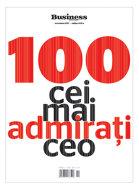 100 Cei mai admiraţi CEO - editia 2017