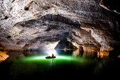 Călătorie spectaculoasă pe cel mai mare râu subteran aflat într-o peşteră  - FOTO, VIDEO