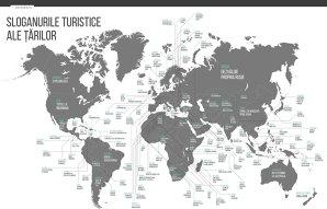 Sloganurile turistice ale ţărilor