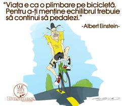 Echilibrul şi bicicleta