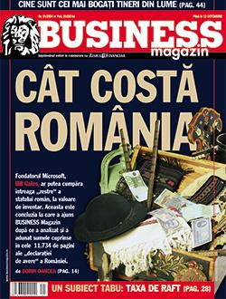 Editorialul Business Magazin de la lansare: Cât valorează România?