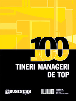Primul catalog 100 tineri manageri de top
