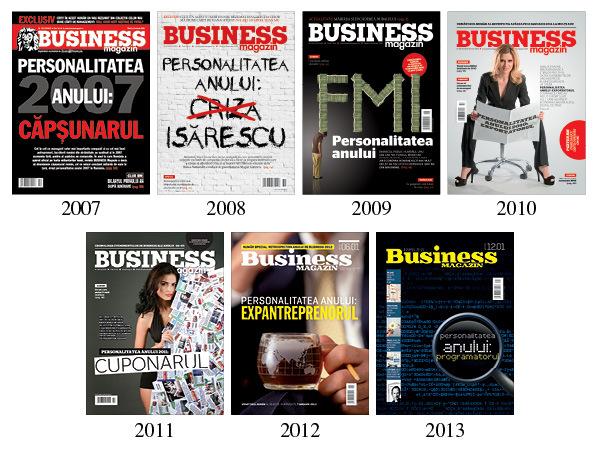 Business Magazin lansează conceptul Personalitatea Anului
