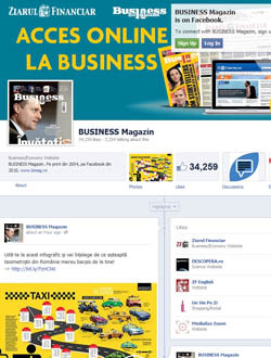 Business Magazin lansează pagina de Facebook