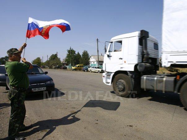 ANALIZĂ: Rusia se expune unui risc major prin intrarea în Ucraina cu o parte a convoiului umanitar