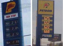 Imaginea suferinţei pentru şoferii din România. Preţurile benzinei şi motorinei s-au dublat faţă de 2007