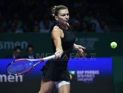 Simona Halep a învins-o pe Serena Williams, la Turneul Campioanelor