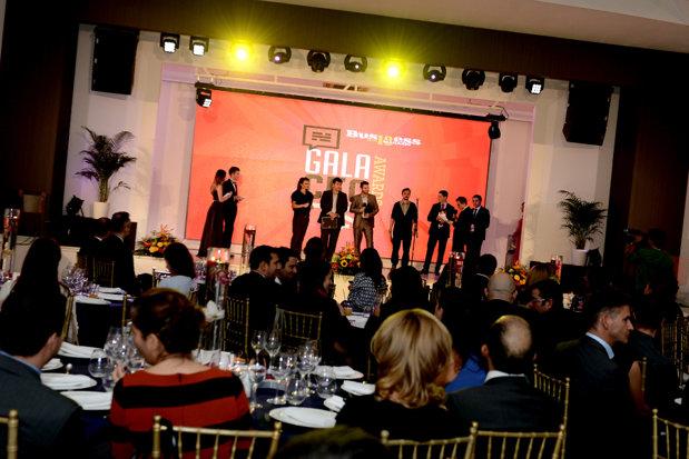 Business Magazin a premiat cei mai admiraţi manageri şi antreprenori din România în cadrul galei CEO Awards