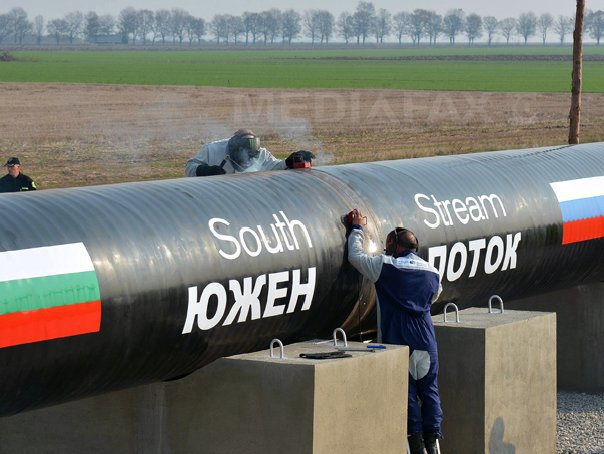 UE ia �n calcul mai multe variante pentru gazoductul South Stream, printre care şi Coridorul Sudic