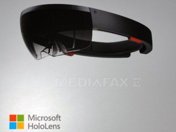 Microsoft a prezentat detaliile sistemului Windows 10 şi ochelarii holografici HoloLens