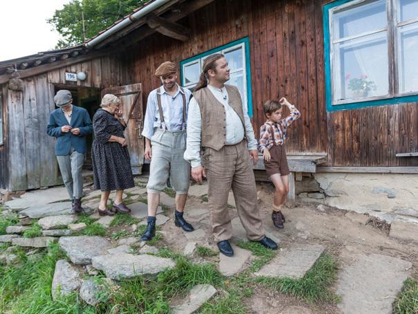 Reality show controversat: O familie trăieşte ca în timpul ocupaţiei naziste - FOTO