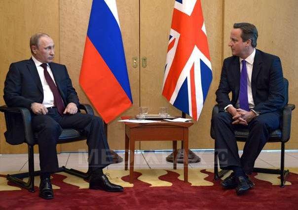 Cameron şi Putin au discutat la telefon despre conflictul din Siria şi situaţia din estul Ucrainei