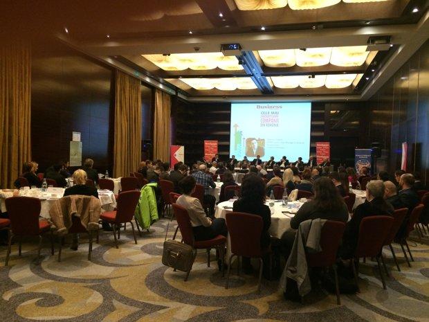 Business Magazin a organizat astăzi conferinţa: Cele mai inovatoare companii din România