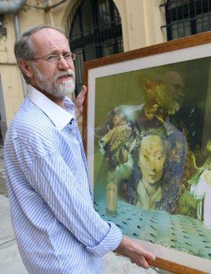 """Pictorul Ovidiu Avram, """"Salvador Dali al României"""", este printre primii 1.000 PICTORI ai lumii – FOTO"""