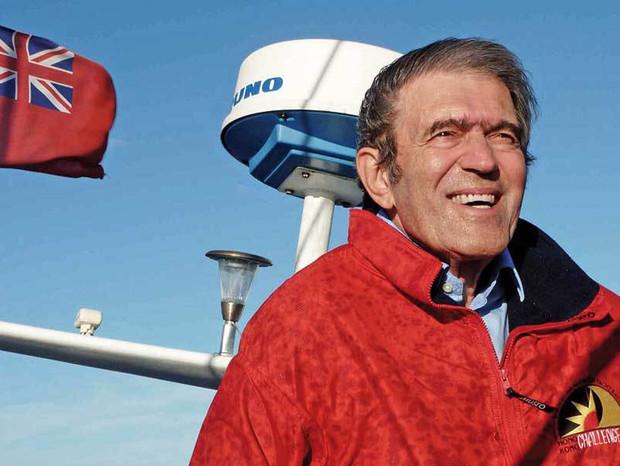 Românul care a făcut înconjorul lumii de trei ori şi a creat industria aventurii pe mare