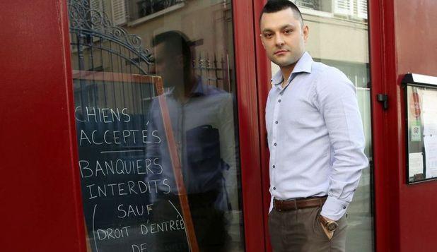 """Restaurantul în care bancherii nu sunt primiţi:''Accept animale, dar intrarea bancherilor este interzisă"""""""