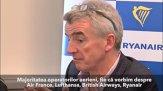 """CEO-ul Ryanair, despre TAROM: """"Va fi dificil pentru companie să supravieţuiască din cauza implicării politice în management"""" - VIDEO"""