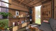 Un bărbat a inventat casa pe care o construeşti doar cu un ciocan, o cheie şi o bormaşină