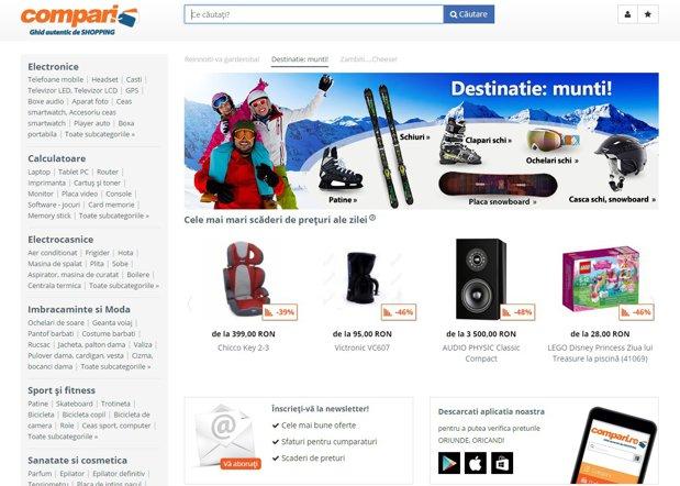 Grupul Naspers vinde site-ul compari.ro