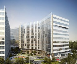 Skanska învesteşte 37,8 milioane de euro în prima clădire a proiectului de birouri de lângă Politehnica