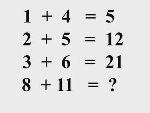 Problema de matematică pe care doar o persoană dintr-o mie o poate rezolva. Majoritatea oamenilor dau ca răspuns numărul 40