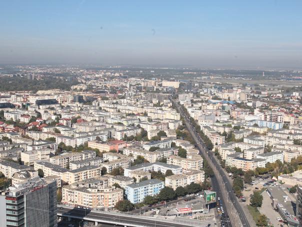 Oraşul din România care se dezvoltă mai puternic decât Clujul şi Bucureştiul