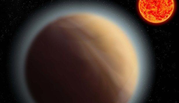 A fost descoperită în premieră o exoplanetă cu atmosferă care are aproximativ aceeaşi dimensiune ca cea a Terrei