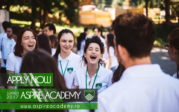Aspire Academy atrage cei mai talentaţi tineri din România şi de peste hotare. Profesori universitari de la Harvard şi Stanford vin să îi îndrume în luna iulie, la Poiana Braşov. Inscrierile se fac pana la data de 23 Aprilie