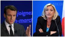 ALEGERILE PREZIDENŢIALE DIN FRANŢA. Exit-poll: Emmanuel Macron şi Le Pen câştigă primul tur/ François Fillon anunţă că îl va susţine pe Macron în al doilea tur