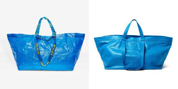 Un brand de fashion de lux a lansat o geantă de 2.145 de dolari care arată identic cu sacoşa Ikea de 99 de cenţi. Răspunsul IKEA a ajuns viral
