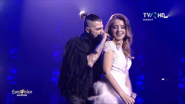 VIDEO PREMIERĂ la Eurovision. S-a întâmplat în DIRECT, la puţin timp după performanţa Ilincăi şi a lui Alex Florea. Spectatorii au rămas ÎNMĂRMURIŢI