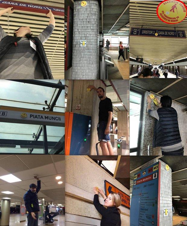 Accesul la metrou pentru nevăzători este mai facil cu Tandem Acces