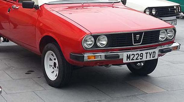 Dacia rară produsă în numai 500 de exemplare şi doar pentru Anglia. Cine şi-o mai aduce aminte?