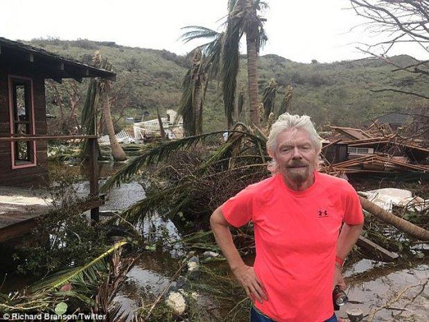 Paradisul DISTRUS. Richard Branson a arătat ce a mai rămas din insula sa, după Uraganul Irma