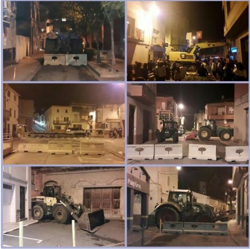 Grevă generală în Catalonia, după violenţele poliţiei din ziua referendumului. Drumurile sunt blocate, iar obiectivele turistice, închise