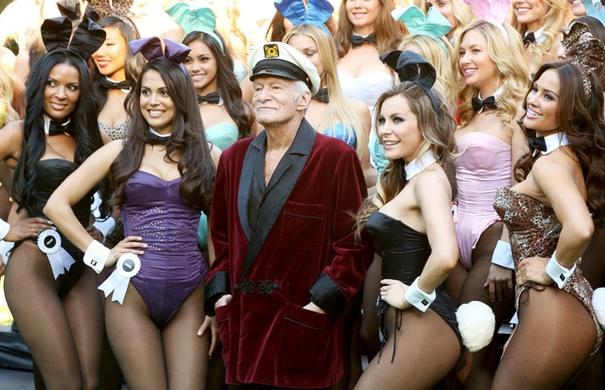 FOTO | Ultima imagine cu fondatorul Playboy. Starea în care se afla de fapt Hugh Hefner