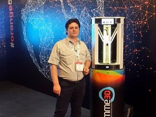 Călin Brandabur, românul care a creat prima imprimantă de ţesuturi vii. Acum lucerează la organe sintetice transplantabile