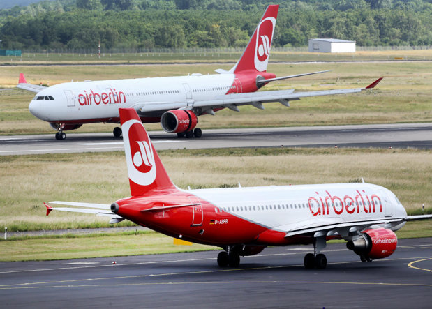 Aproximativ 1.400 de angajaţi ai companiei Air Berlin urmează să fie concediaţi, anunţă sindicatele