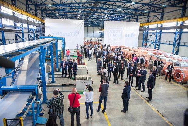 Grupul Teraplast a deschis TeraSteel Serbia, prima fabrică românească inaugurată în străinătate după 1990