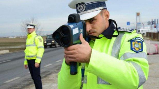 Poliţia a împânzit ţara de radare. Care sunt cele mai supravegheate zone
