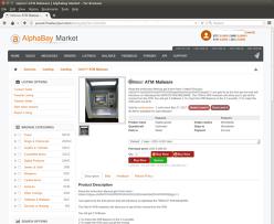 Kit de jefuire a bancomatelor, vândut pe internet cu 5000 de dolari. Avea şi un ghid de utilizare