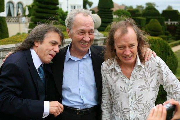 George Young, fratele mai mare al chitariştilor Angus şi Malcolm de la AC/DC, a murit