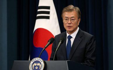 Preşedintele sud-coreean e sceptic în privinţa unei alianţe militare trilaterale cu SUA şi Japonia