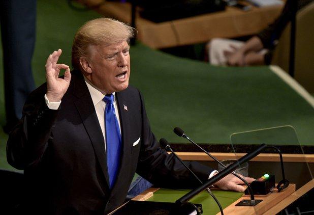 Donald Trump solicită acţiuni la nivel mondial împotriva ameninţării nucleare din Coreea de Nord