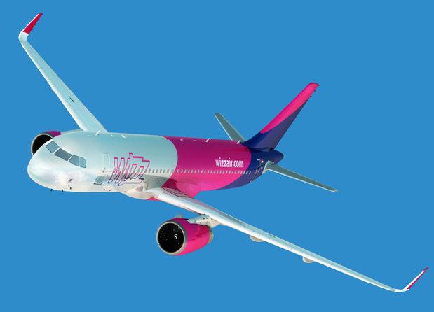 Wizz Air lansează trei rute noi din România. Care sunt destinaţiile spre care veţi putea zbura în 2018
